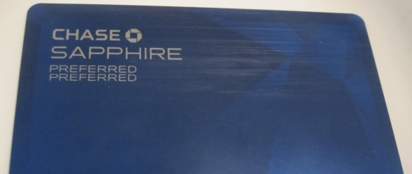 The front of the Sapphire Preferred Preferred