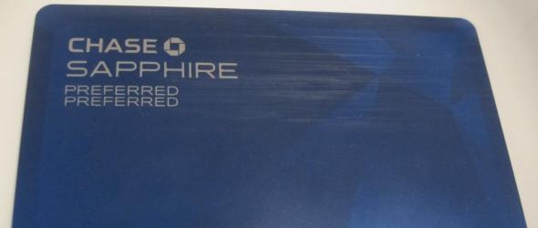 The front of the Sapphire Preferred Preferred